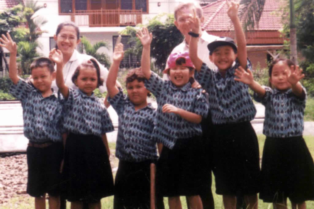 First Batch Primary Students