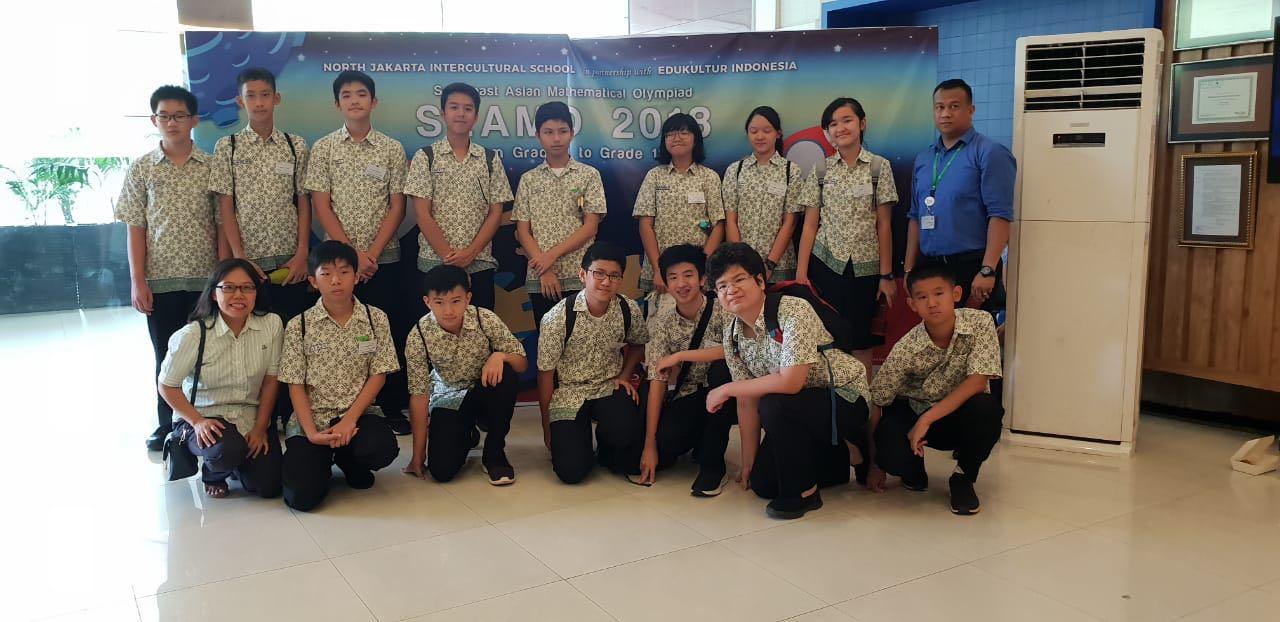 TM Students won 24 medals in SEAMO 2018 – Tunas Muda School